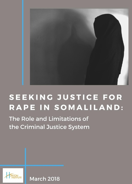 Seeking Justice for Rape in Somaliland : The Role and Limitations of the Criminal Justice System